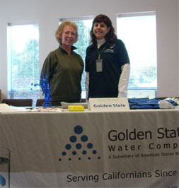 Photo of Golden State Water Company table