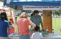 Photo of the Central Coast Water Board booth