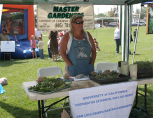 Photo Of Master Gardener's Booth